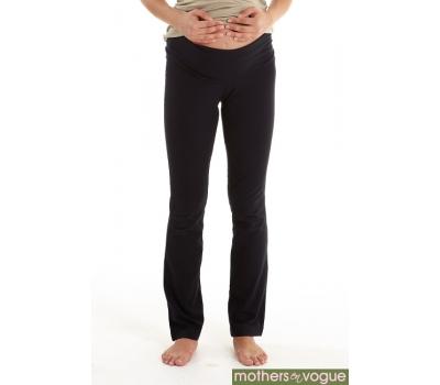 Брюки для беременных и кормящих Mothers en Vogue Foldover Yoga, черный