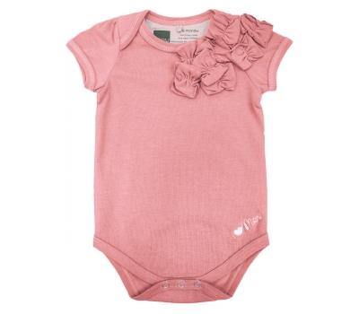 Боди Mothers en Vogue Bourbon детский, розовый (Apricot)