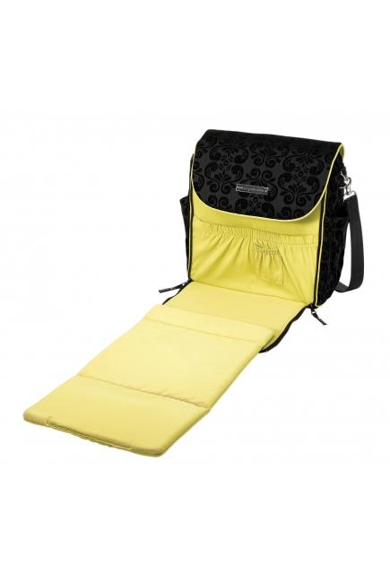 Petunia Boxy Backpack: Black Currant