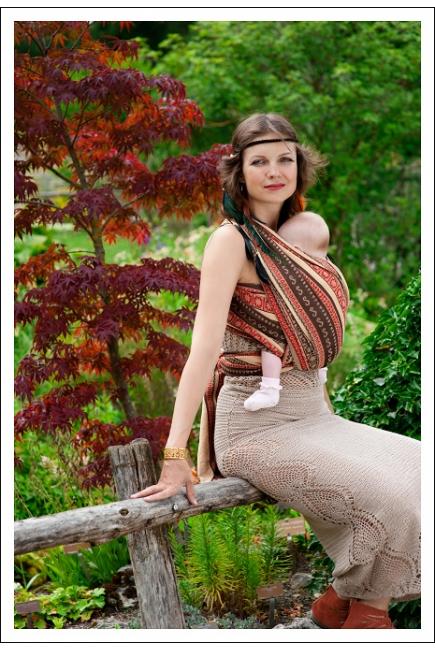 Слинг-шарф Ellevill Zara Tricolor Indian