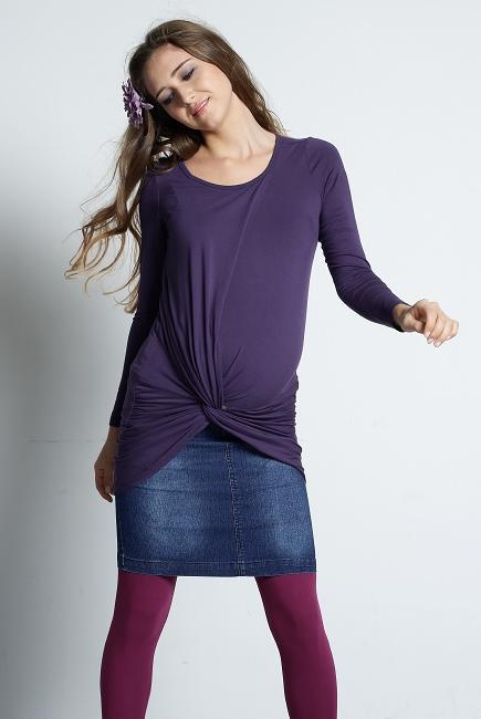 """Туника для кормления Mothers en Vogue """"Sol-Luna"""", цвет фиолетовый"""