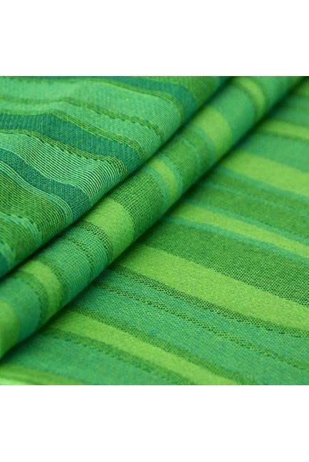 Слинг-шарф Didymos, Waves Lime (волны лайм)