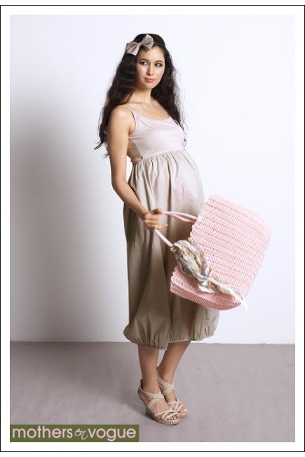 """Платье Mothers en Vogue """"Bubble Hem"""""""
