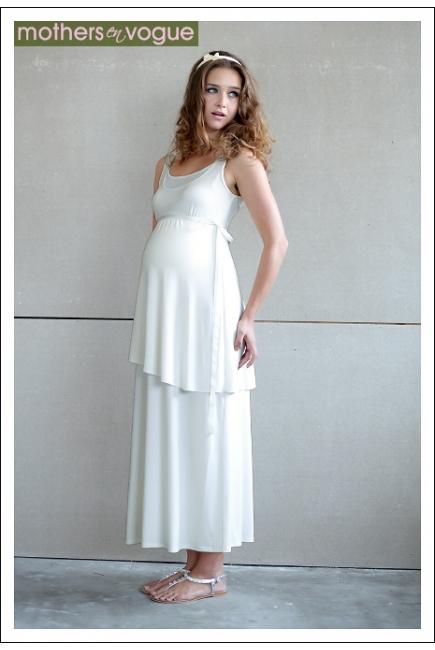 """Платье Mothers en Vogue """"Gaia Dream"""", цвет кремовый"""