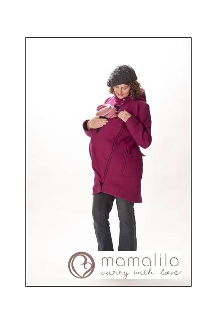 Слингопальто MamaLila, цвет черный