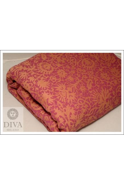Слинг с кольцами Diva Milano Veneziano 100% Cotton: Tramonto Dorato
