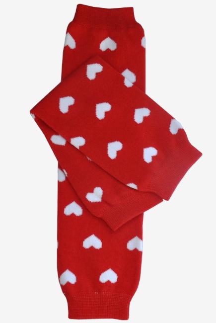 "Слингогетры (гетры для детей) ""Hearts Red"""