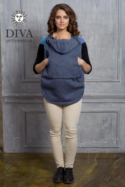 Слингонакидка из шерсти Diva Outerwear Notte
