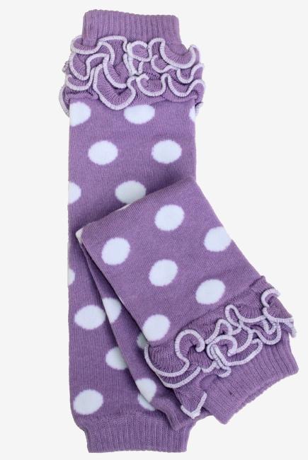 """Слингогетры (гетры для детей) """"Dots Purple"""""""