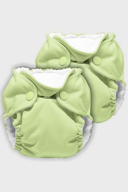 Многоразовые подгузники для новорожденных Lil Joey Kanga Care, Lazy Lime, 2шт.