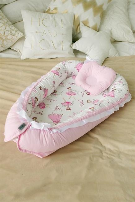 Гнездышко для новорожденных Babynest Balerina