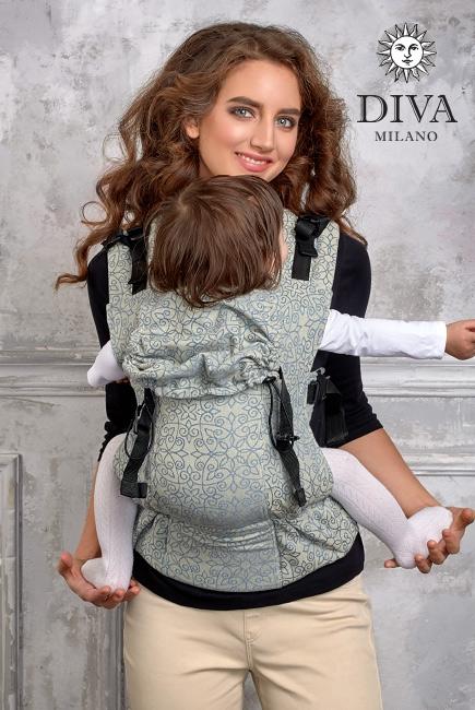 Эрго-рюкзак Diva Basico Damasco
