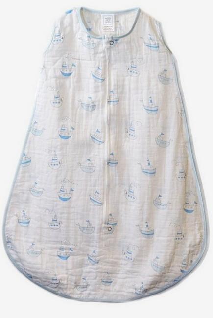 Спальный мешок SwaddleDesigns Blue Little Ships