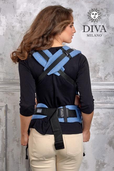 Эрго-рюкзак Diva Basico Zaffiro