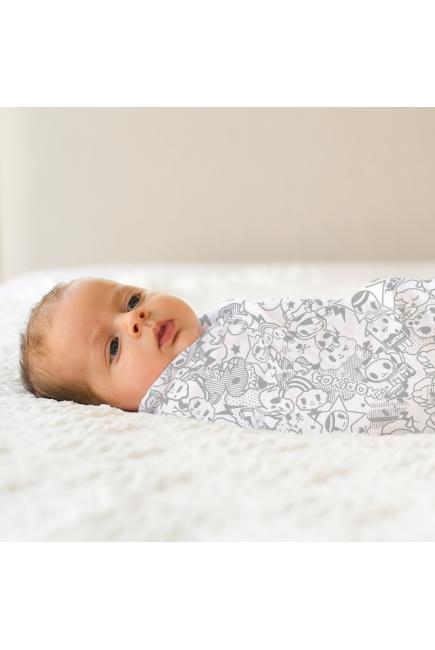 Пеленки муслиновые для новорожденных большие, Unikiki