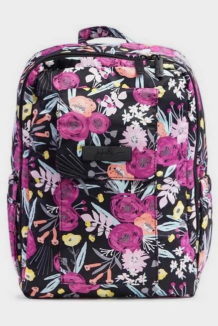 Рюкзак для мамы Ju-Ju-Be Mini Be, Black And Bloom
