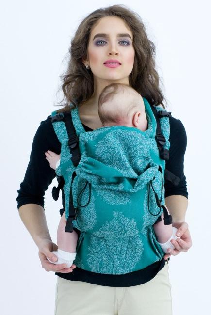 Эрго-рюкзак для новорожденных Diva Essenza Smeraldo One!