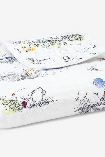 Муслиновое одеяло Aden Anais, Disney Winnie Pooh