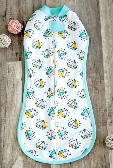 Пеленка-кокон для новорожденных утепленная, Diamond