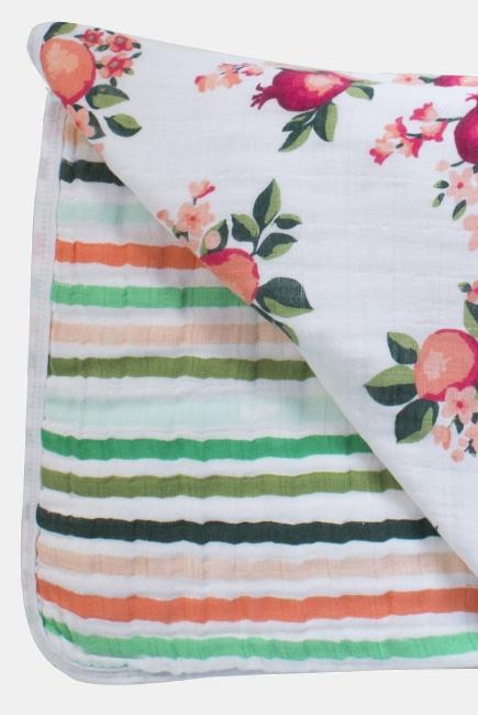 Одеяло муслиновое Bebe au Lait, Ojai and Ribbon