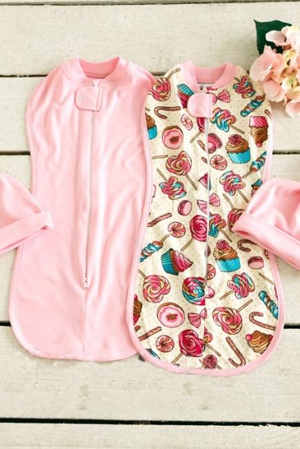 Комплект пеленок-коконов для новорожденных, Delicious