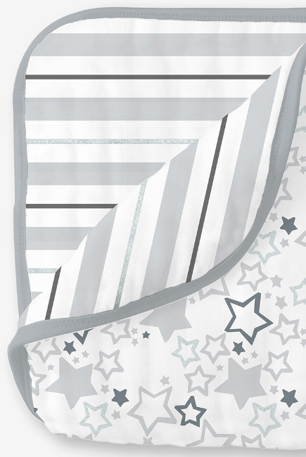 Муслиновое одеяло SwaddleDesigns, цвет Starshine Shimmer Sterling