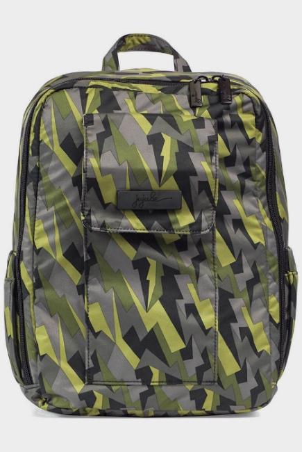 Рюкзак для мамы Ju-Ju-Be Mini Be, Black Lightning