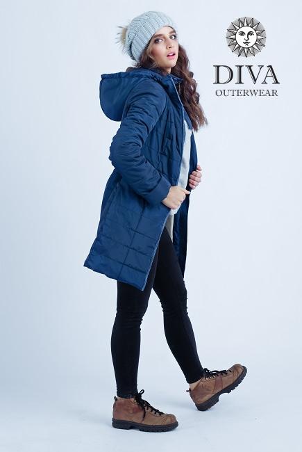 Слингокуртка зимняя 4 в 1 Diva Outerwear Azzurro