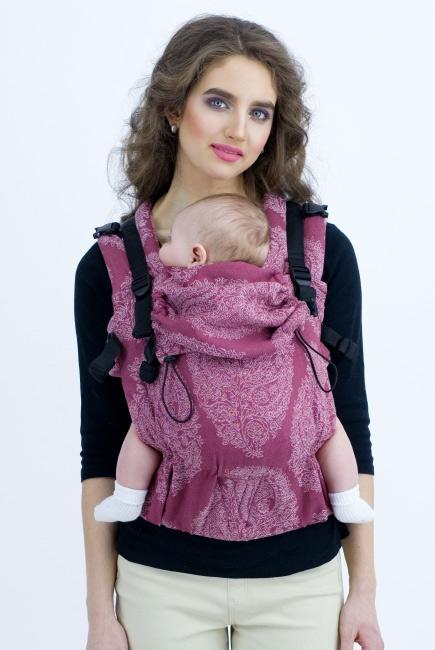 Эрго-рюкзак для новорожденных Diva Essenza Berry One! с бамбуком