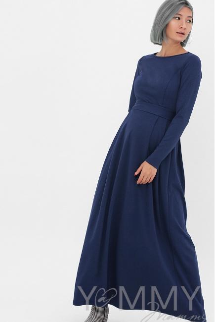 308b29a82b4 Платье для кормящих и беременных в пол
