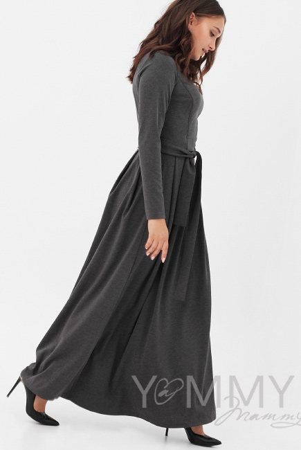 e728fcf0b9e Платье для кормящих и беременных в пол