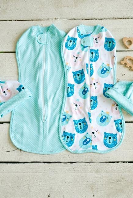 129e26ce6ab00 Комплект пеленок-коконов для новорожденных, Osito - купить товары ...