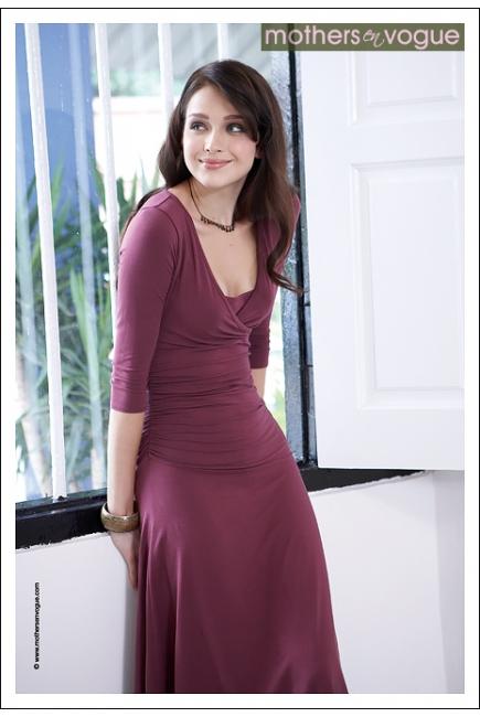 """Платье для кормящих Mothers en Vogue """"Dana"""", рукав 3/4, цвет"""