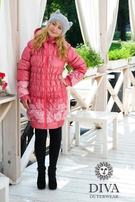 Слингокуртка Diva Outerwear Corallo