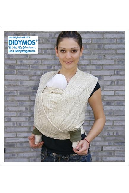 Слинг-шарф Didymos, Indio Natur со льном