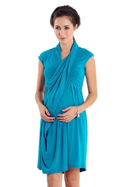 Платье Mothers en Vogue Gallery Day, голубой (Harbor Blue)