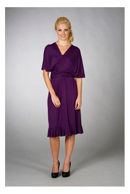 """Платье для кормления MaternaLove """"Goddess Convertible"""", цвет фиолетовый"""