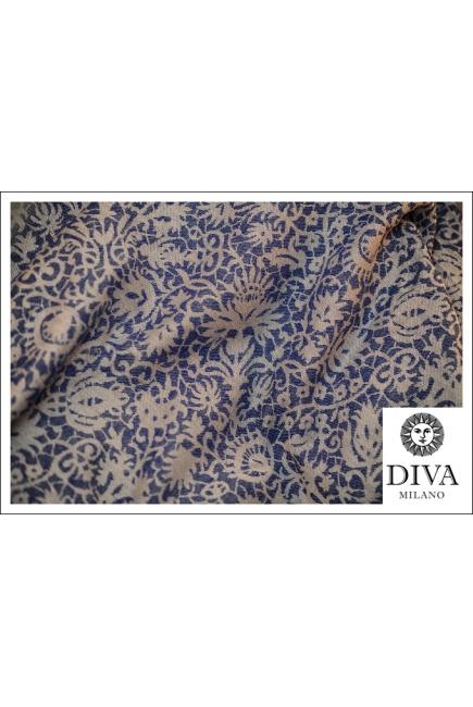 Слинг Diva Milano с шерстью, Veneziano Azzurro
