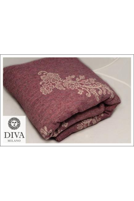 Слинг Diva Milano с шерстью, Reticella Diamante Rosa