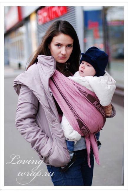 Уникальная РОЗОВАЯ Ellevill Karma 3.7м