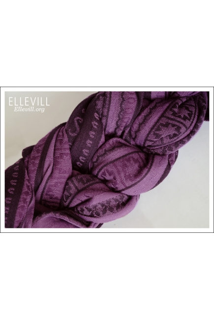 Слинг-шарф Ellevill Zara Tricolor Purple (новый выпуск)