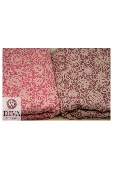 Слинг Diva Milano c шерстью, Veneziano Diamante Rosa