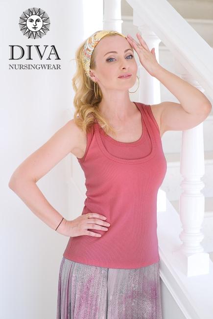 Топ для кормления Diva Nursingwear Eva, цвет Corallo