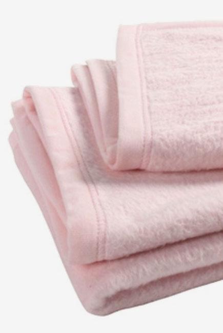 """Плед для новорожденных, цвет """"светло-розовый"""""""