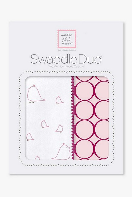 Набор пеленок SwaddleDesigns Swaddle Duo PK Big Chickies
