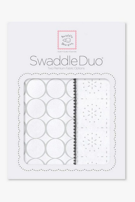 Набор пеленок SwaddleDesigns Swaddle Duo ST Mod C/Sparklers