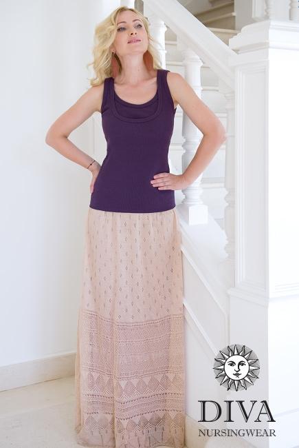 Топ для кормления Diva Nursingwear Eva, цвет Viola