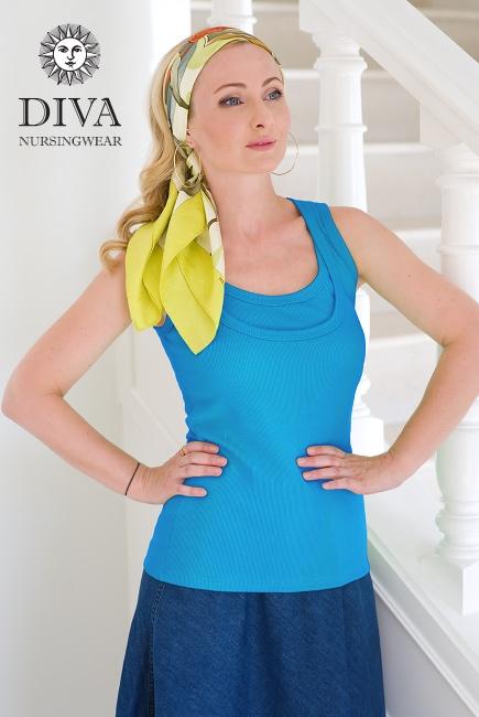 Топ для кормления Diva Nursingwear Eva, цвет Ceruleo