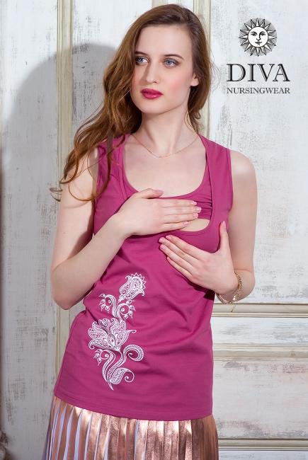 Топ для кормления Diva Nursingwear Eva Print, цвет Sorbetto