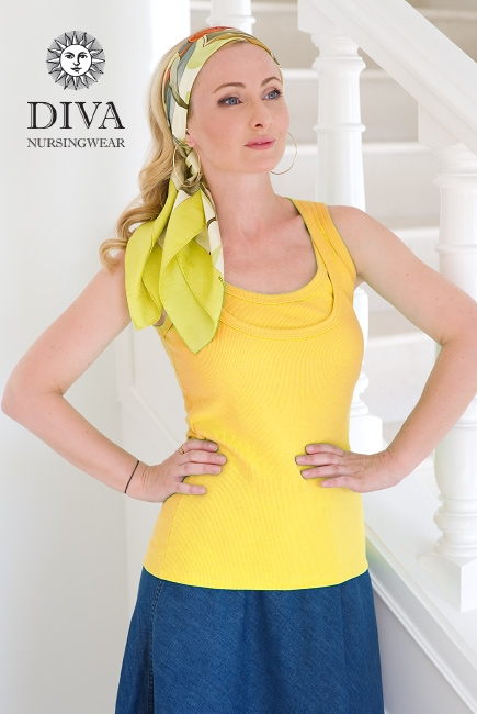 Топ для кормления Diva Nursingwear Eva, цвет Limone